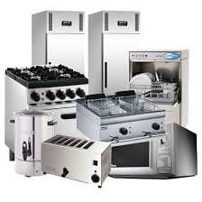 Clean Commercial Kitchen Equipment