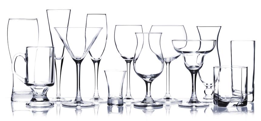 handling glassware