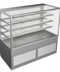 Cossiga Tower Series Refrigerated Square Display Cabinet System 1500 - BTGRF15