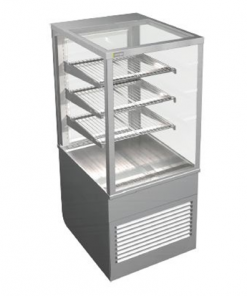 Cossiga Tower Series Refrigerated Square Display Cabinet System 600 - BTGRF6