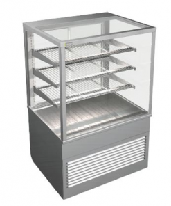 Cossiga Tower Series Refrigerated Square Display Cabinet System 900 - BTGRF9