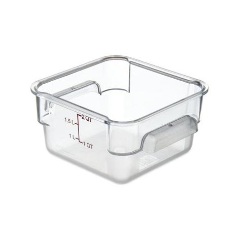 Storplus Polycarbonate Square Food Storage Container - 2 Litre - 10720AF07