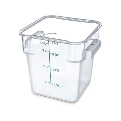 Storplus Polycarbonate Square Food Storage Container - 4 Litre - 1072107