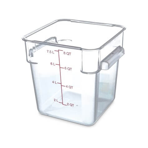Storplus Polycarbonate Square Food Storage Container - 8 Litre - 1072307
