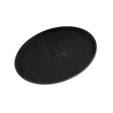 "GripLite® Round Tray 16-7/16"" - Black - 1600GL004"