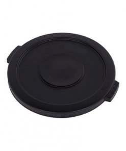 Bronco™ Round Waste Bin Trash Container Lid 75 Litre - Black - 34102103