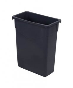 TrimLine™ Rectangle Waste Container Trash Can 57 Litre - Gray - 34201523