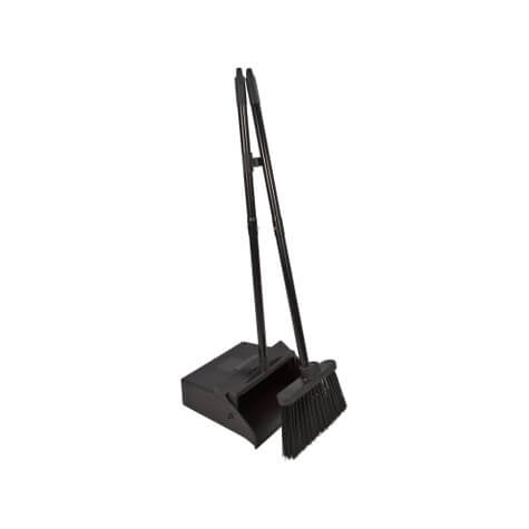 "Duo-Pan™ Lobby Pan & Duo-Sweep Broom Combo 36"" - Black - 36141503"