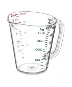 Commercial Measuring Cup 1 pt - Clear - 4314207