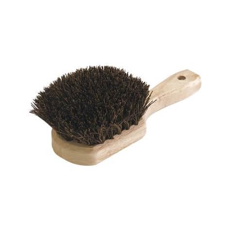 "Sparta Utility Scrub Brush With Stiff Palmyra Bristles 8.5"" x 4"" - 4546300"