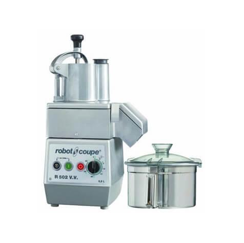 Robot Coupe R502 V.V. 5.5L Cutter Mixer & Vegetable Slicer