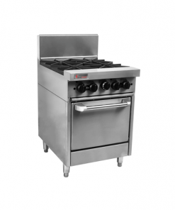 RCR6-4 Trueheat RC Series 4 Burner Gas Oven Range
