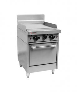 RCR6-6G Trueheat RC Series 600mm Gas Griddle Range with Oven