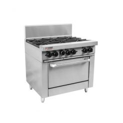 RCR9-6 Trueheat RC Series 6 Burner Gas Oven Range