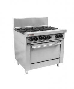 RCR9-9G Trueheat RC Series 900mm Griddle Gas Oven Range