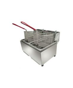 Woodson W.FRT80 Twin Pan 16L Fryer
